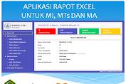 Aplikasi Rapot Excel Untuk MI, MTs dan MA