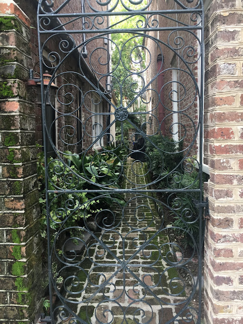 Gated Courtyard in Charleston, SC