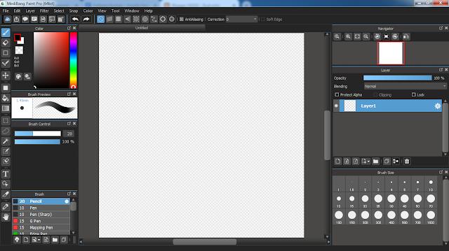 Kalian ilustrator pemula yang masih bingung mau gambar pake software apa 5 Software Ilustrasi Digital (Menggambar Digital) Paling Ringan & Terbaik
