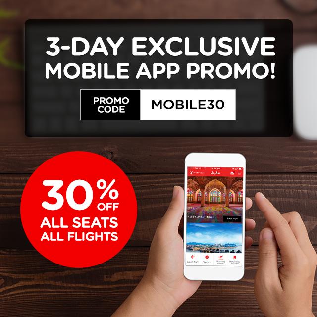 AirAsia Mobile Promo