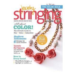 Find the Stretch Magic Ad in Jewelry Stringing Magazine