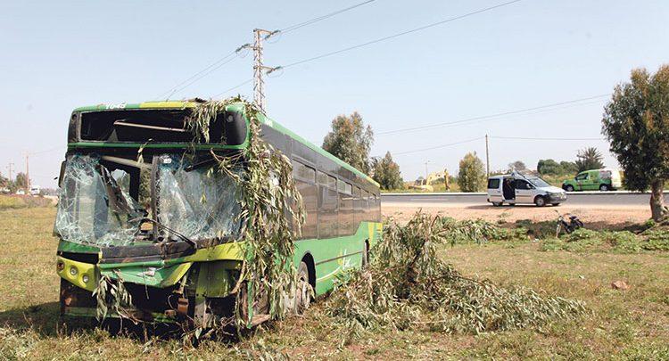 حافلة دون ترخيص ترسل 30 راكبا إلى المستعجلات بالبيضاء