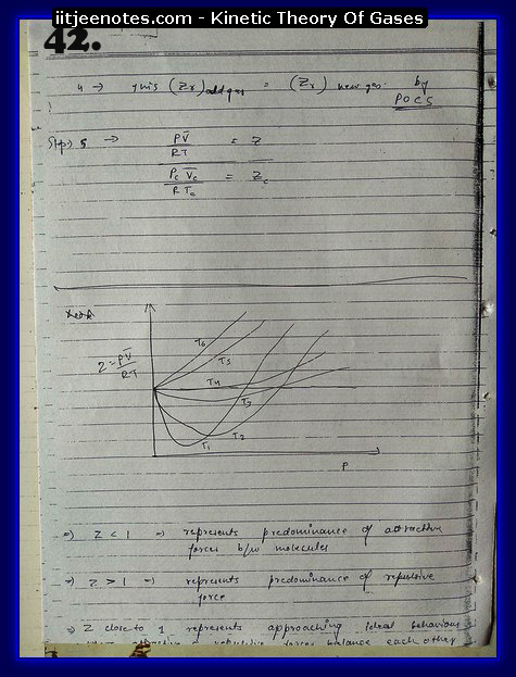 Kinetic Theory Of Gases Notes IITJEE12