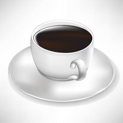 Tazas de café en vector