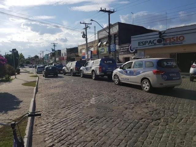 Reforço policial chega a Muritiba após toque de recolher