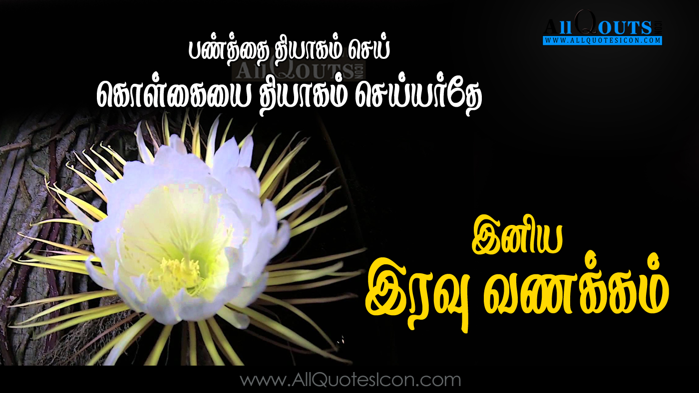 Good Night Tamil Kavithai Greetings Hd Wallpapers Best Life Quotes