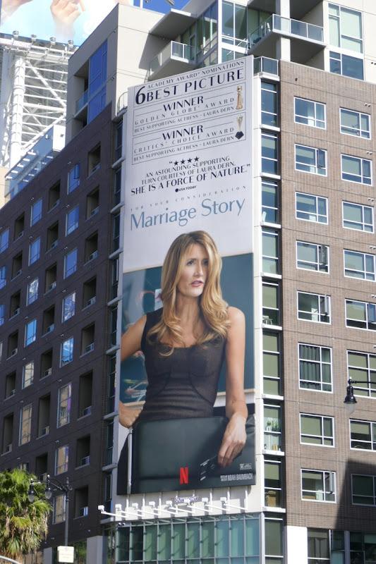 Laura Dern Marriage Story Oscar billboard