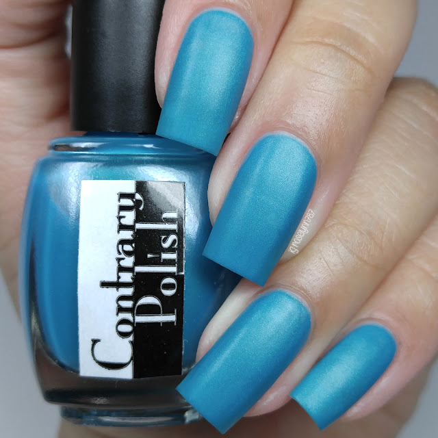 Contrary Polish - Blue Raspberry