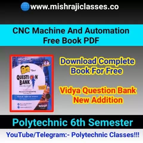 CNC Machine And Automation Free Book Pdf