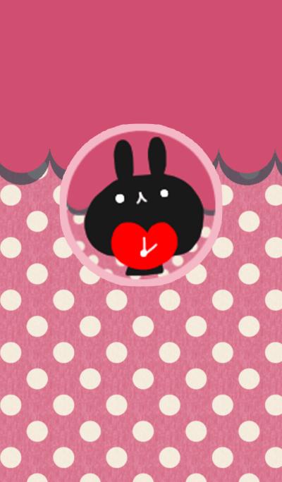 Pair rabbit 2 (lady)