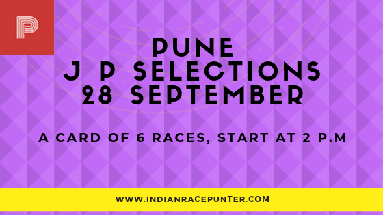 Pune Jackpot Selections 28 September