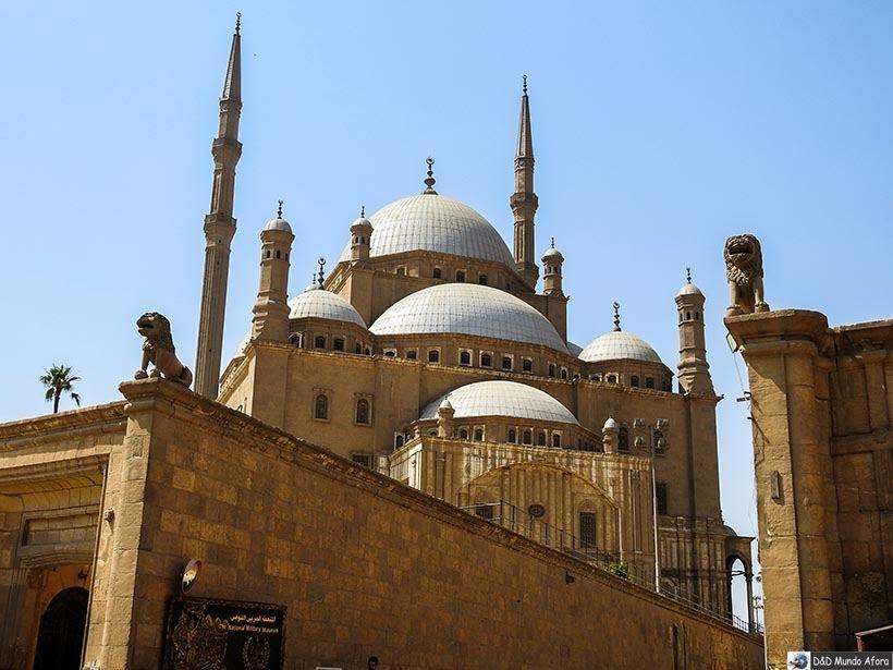 Mesquita de Mohamed Ali na Cidadela de Saladino, no Cairo