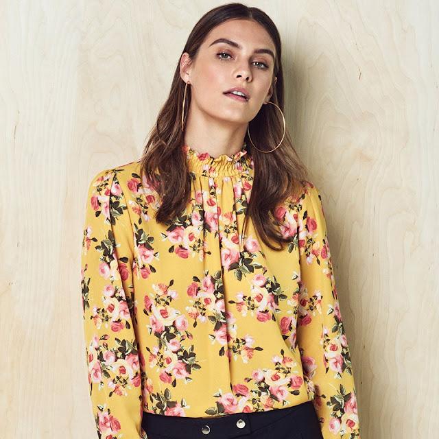 blusa floreale