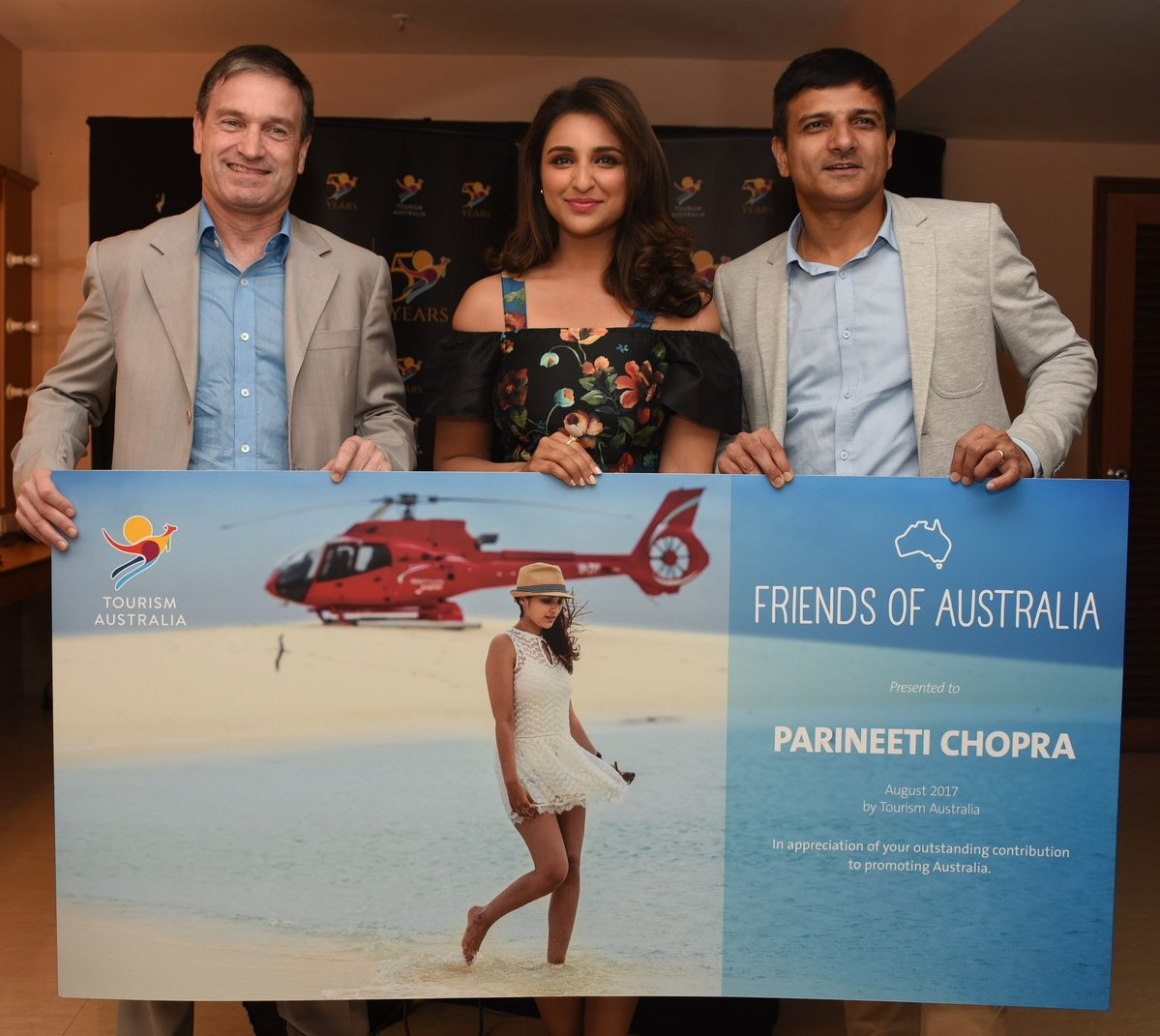 Special Event With Parineeti Chopra For Tourism Australia
