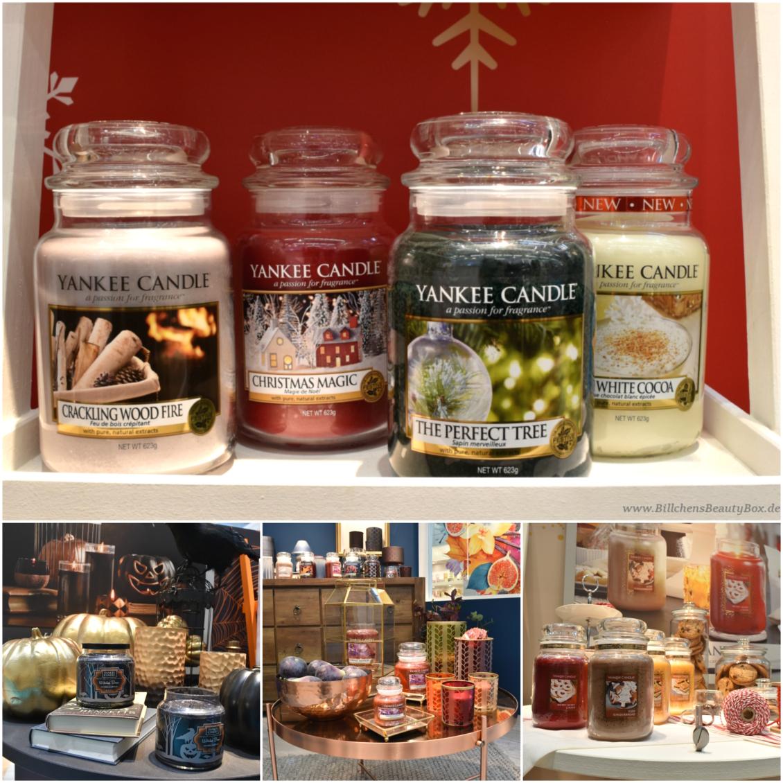 Yankee Candle - Vorschau Herbst / Winter 2017 - Kollektionen, Accessoires und Duftbeschreibungen