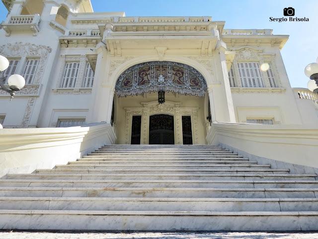 Palácio dos Cedros (escadaria da entrada)