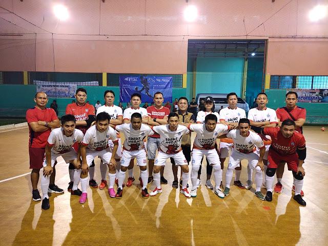 Masuk Perempat Final, Tim Futsal Sulut vs Tim Futsal Kaltim
