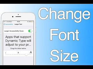 How to Alter the Font in iPhone