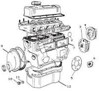 Gambar bahagian enjin kereta 2