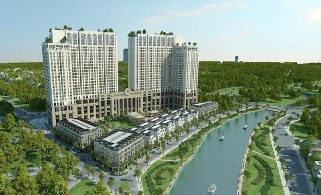 Phối cảnh dự án Roman Plaza Hà Đông
