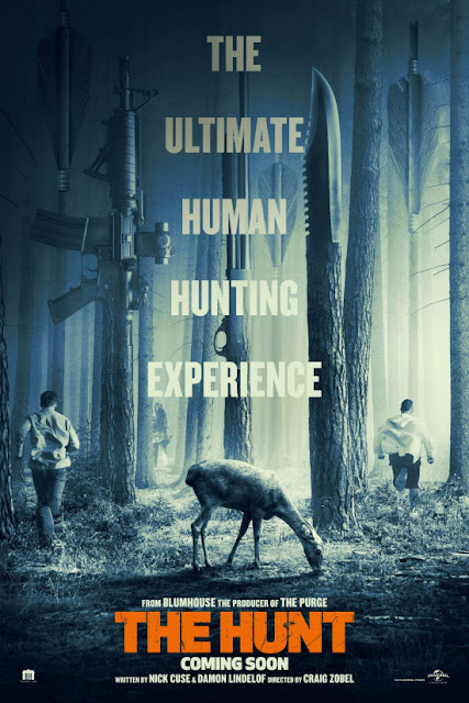 The Hunt 2020 English Full Movie 300MB WEBRip ESub Download