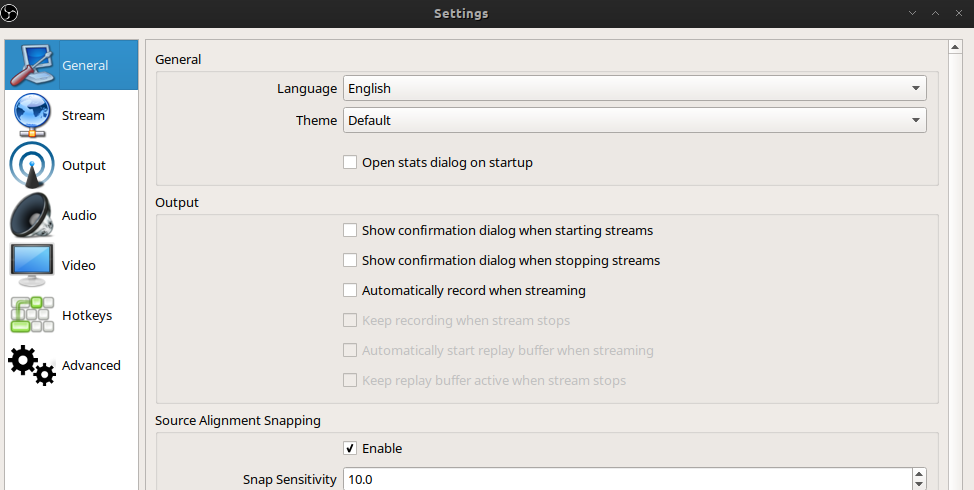 Open Broadcaster Software - Screen Recorder & Streaming on archlinux