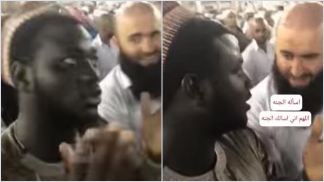 Viral Pria Berdoa Minta Uang di Depan Kakbah, Reaksinya Pas Ditegur Ngeselin