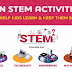 Fun STEM Activities to Keep Children Busy #infographic