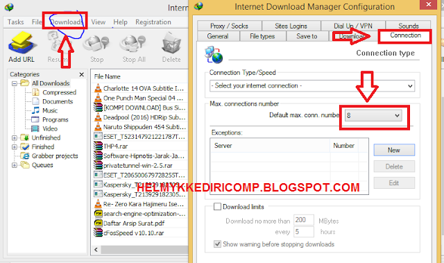 Cara Download File Tanpa Corrupt
