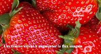 fraises aident à augmenter le flux sanguin vers pénis