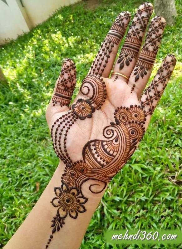 Arabic Simple Mehndi Designs
