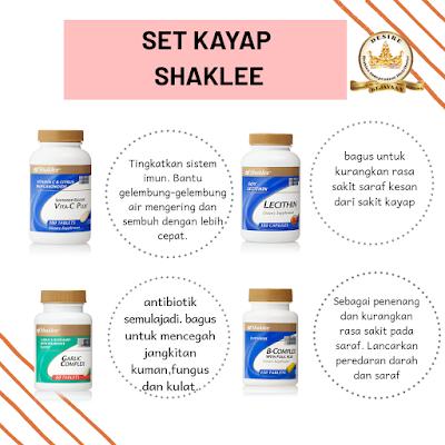 Set Kayap Shaklee
