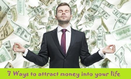 attract money