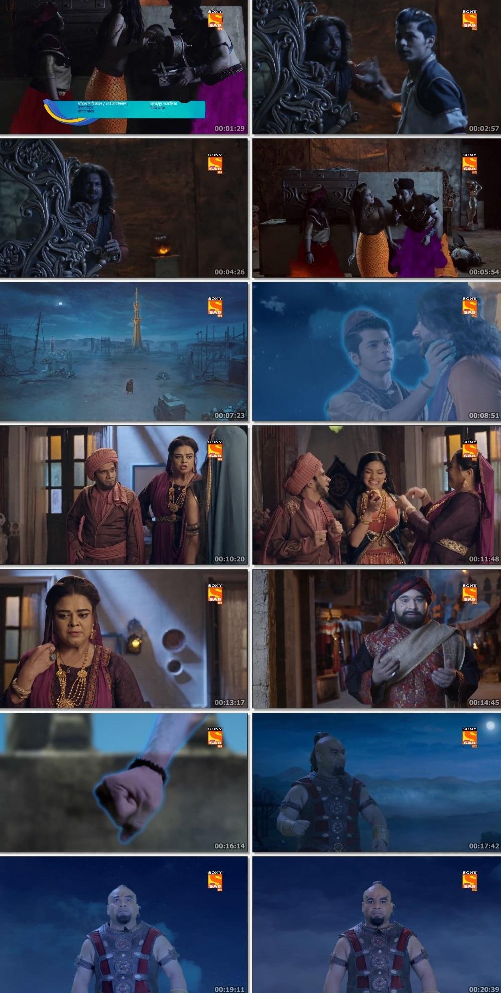 Screenshots Of Hindi Show Aladdin – Naam Toh Suna Hoga 2019 Episode 275 300MB 720P HD