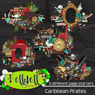 Caribbean Pirates page starters