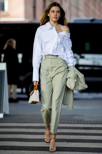 Стильный образ модные брюки 0-4