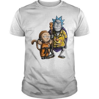 Rick and Morty Son Goku and Master Roshi T Shirts Hoodie