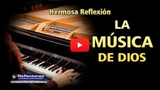 Un organista de una iglesia estaba practicando una pieza de Felix Mendelssohn y no estaba tocando muy bien.   Frustrado, recogió su partitura de música y se dispuso a irse. No había notado a un extraño que se había sentado en un banco de atrás.
