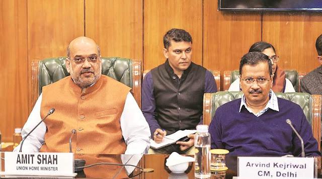 दिल्ली में बढ़ती हुई कोरोना की स्थिति पर चर्चा करने के लिए अमित शाह ने कल बुलाई बैठक, एलजी और मुख्यमंत्री होंगे शामिल