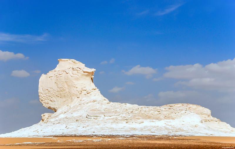 white sand egypt