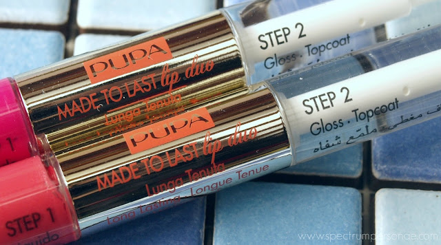 Pupa Coral Island LE - Made To Last Lip Duo 002 003