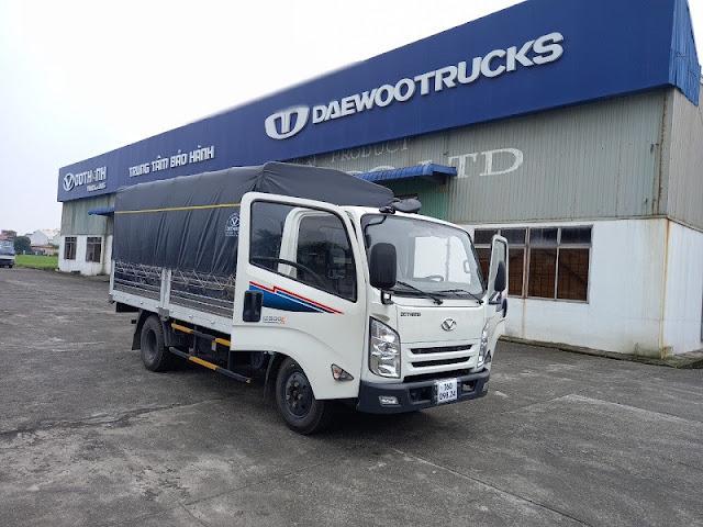 Giá xe tải Đô Thành IZ500 thùng bạt