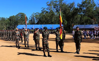 7th edition of India-Sri Lanka joint training Exercise MITRA SHAKTI 2019 will be held in Pune from 01 - 14 December