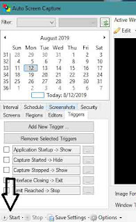 Take Screenshots automatically at Regular Interval on PC