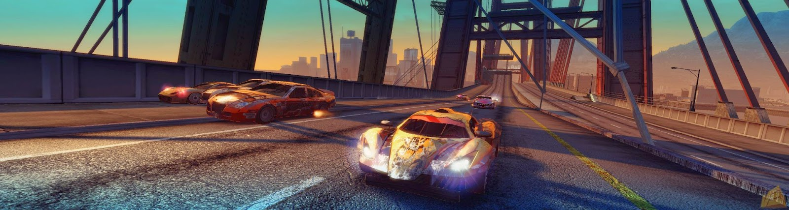 Burnout Paradise Highly Compressed 580 Mb