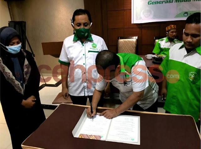 Mahdi Andela Ketua DPW Gema MA Aceh