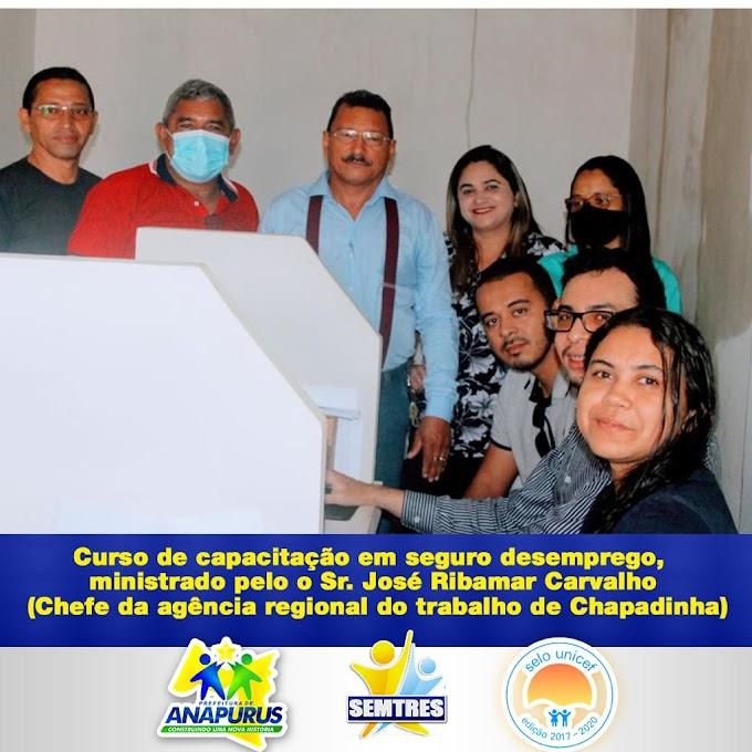 Anapurus: Secretaria Municipal do trabalho e economia solidária recebe chefe da agência regional do trabalho de Chapadinha