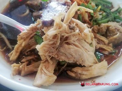 Lauk Ayam Bihun Celup