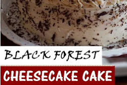BLACK FOREST CHEESECAKE CAKE