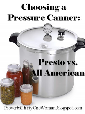 Presto canner pros and cons, All American canner pros and cons